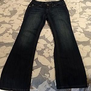 INC Jeans Bootleg Regular Fit sz 4